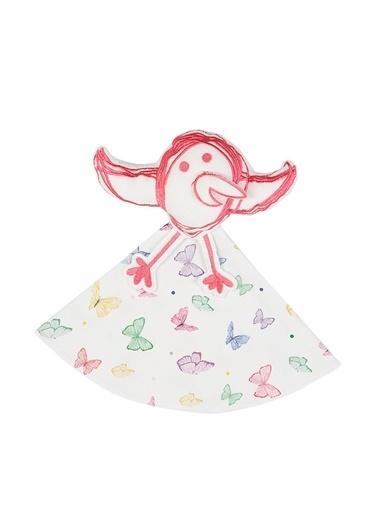 Nila Kids Nila Kids Nilabird with Butterfly Renkli Uyku Arkadaşı Renkli